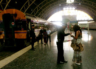 Train Station Bangkok to Malaysia by Train, Butterworth Station Penang