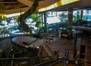 Emquartier Spiral, Hilton Hotel in Em District of Bangkok Skytrain