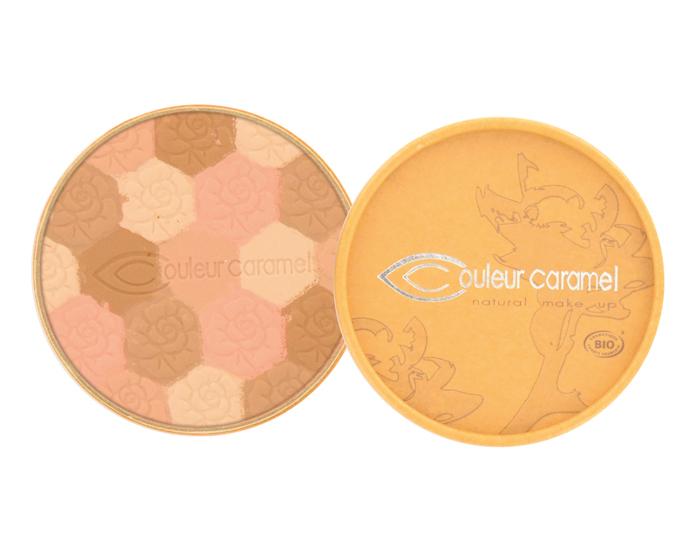 Couleur Caramel  Poudre Mosaque clat du teint clair 232  Boutique bio