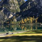 Autumn colors at Lake of Braies