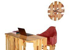 Bureau en palette par Mablé Agbodan 6V6A0251