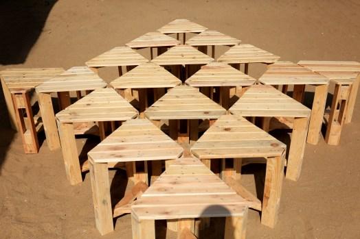 Palet stool - Tabouret en palet par Mable Agbodan 0L6A7511