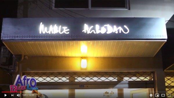 Inauguration de la boutique Mblé Agbodan