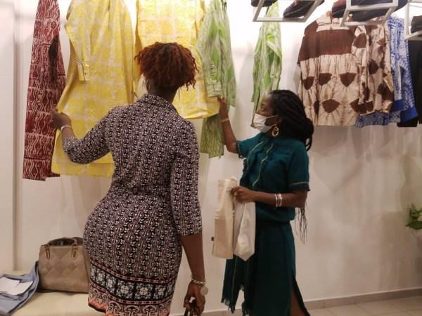 Artisanat - Boutique Mablé Agbodan : La noce de coton se célèbre chez Mablé