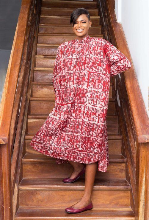 Robe rouge par Mablé Agbodan _ IMG_7210