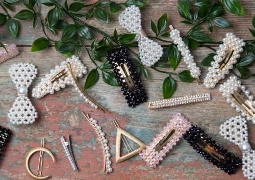 Barrettes perles - blog mantra