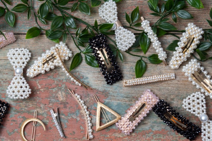 Barrettes perles - blog mantra