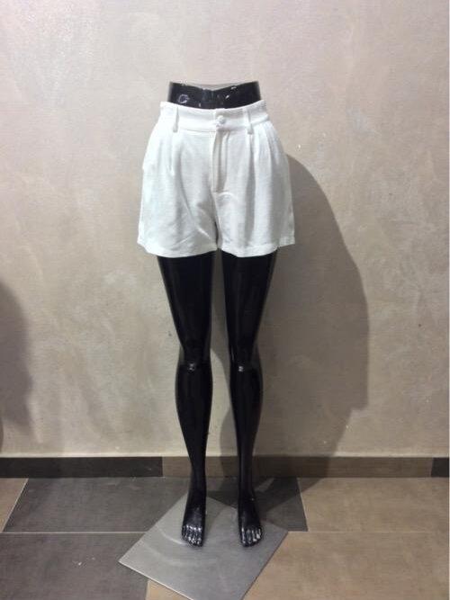 מכנסיים קצרים ציפי לבן
