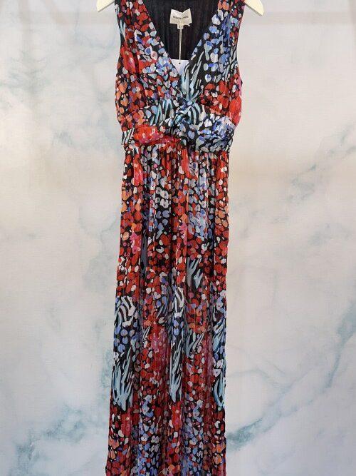 שמלה מקסי בטי שחורה