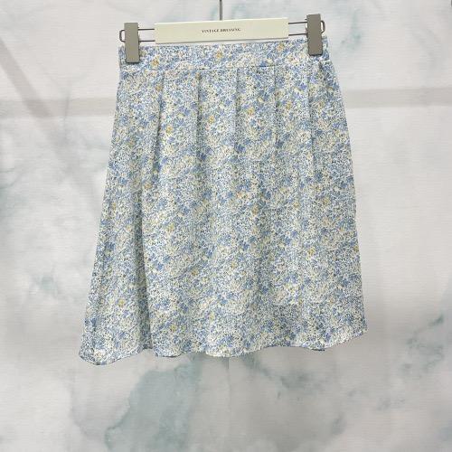 חצאית מיני קרי כחול