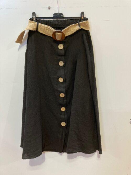 חצאית פשטן שחור
