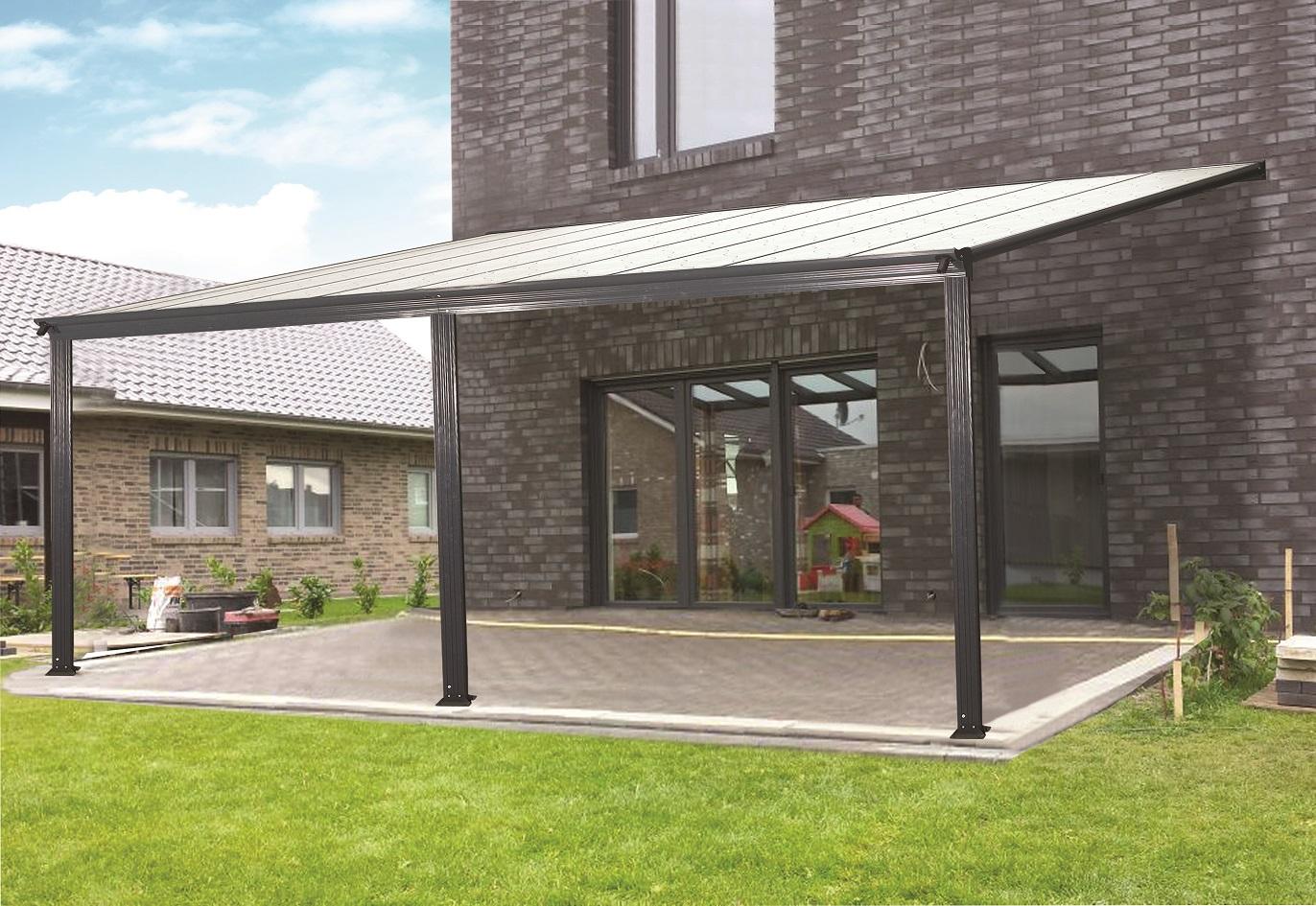 pergola aluminium 5x3m toit terrasse
