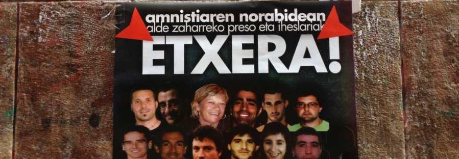 ETA Häftlinge auf Plakat