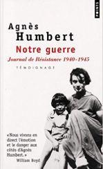 Cover Agnès Humbert: Journal de Résistance 1940-1945