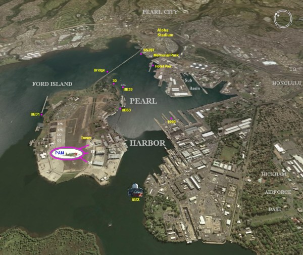 Pearl Harbor Naval Station Map - Year of Clean Water