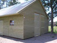Houten garages Friesland - Bouwservice Veenwouden