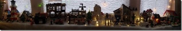 LEGO Kerstdorp van Gjalt Littooij