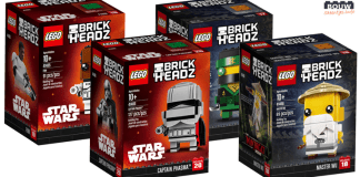 LEGO Star Wars en Ninjago Movie BrickHeadz