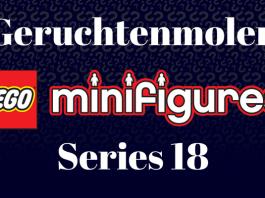 Geruchtenmolen LEGO 71021 Minifigures Series 18