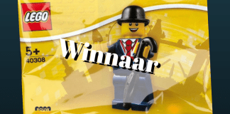 Winnaar LEGO 40308 Lester Polybag