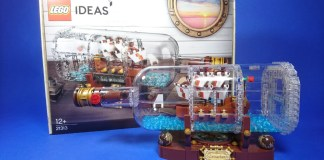 LEGO Ideas 21313 Ship in a Bottle review