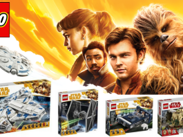 LEGO Star Wars Solo sets