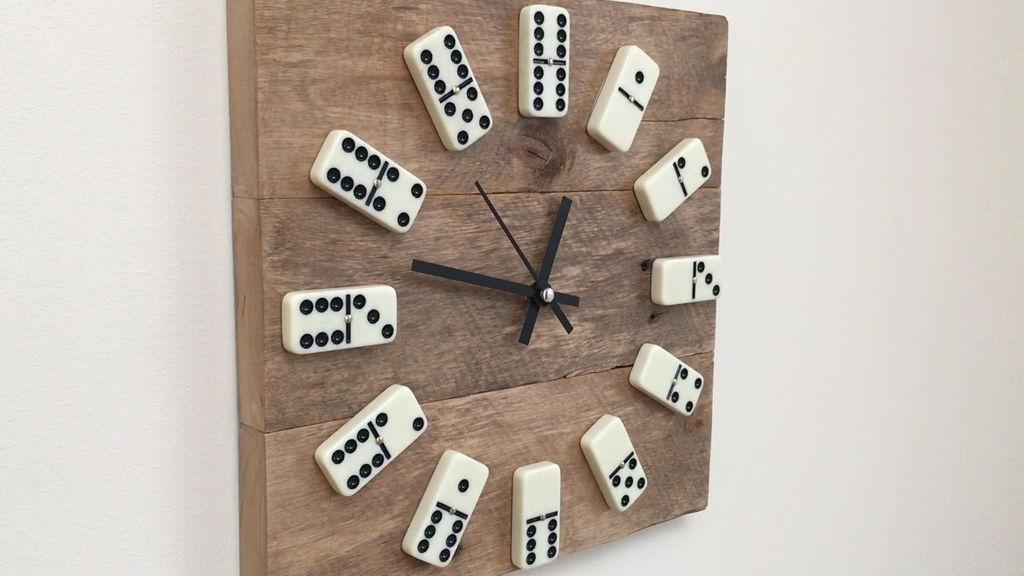 Een houten klok maken  Bouwsuper