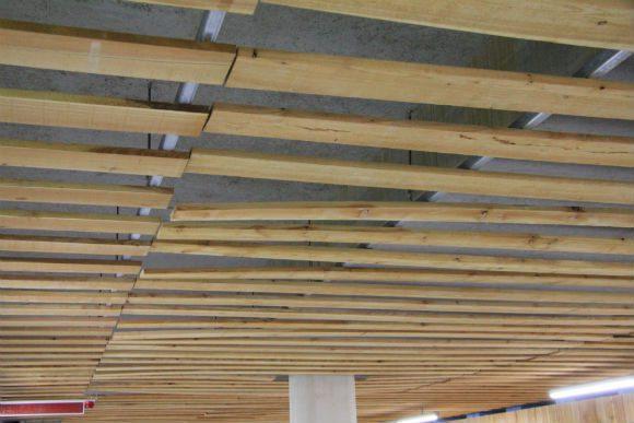 Planken plafond  Bouwwereldnl