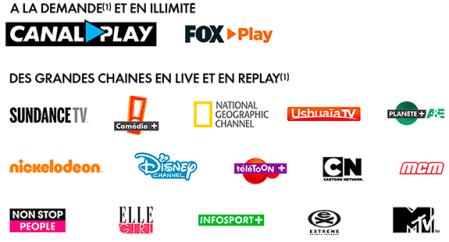 Bbox ou Bbox Miami : bonus TV Start by Canal