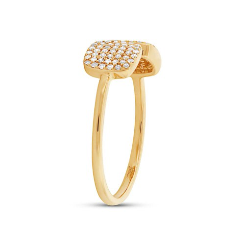 z sc36213318c - 0.25CT 14K YELLOW GOLD DIAMOND LADY'S RING SC36213318