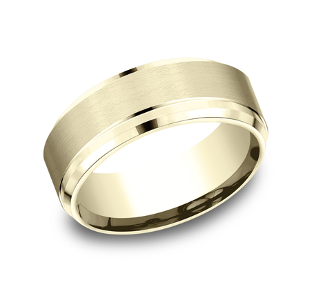 CF68486Y P1 - 9MM YELLOW GOLD BAND CF68486Y
