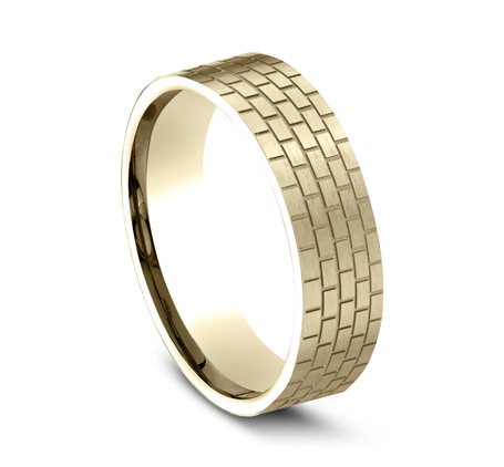 CF846331Y P2 - YELLOW GOLD DESIGN BAND CF846331Y