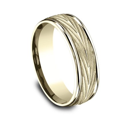 RECF77337Y P2 - 7MM YELLOW GOLD  BAND RECF77337Y