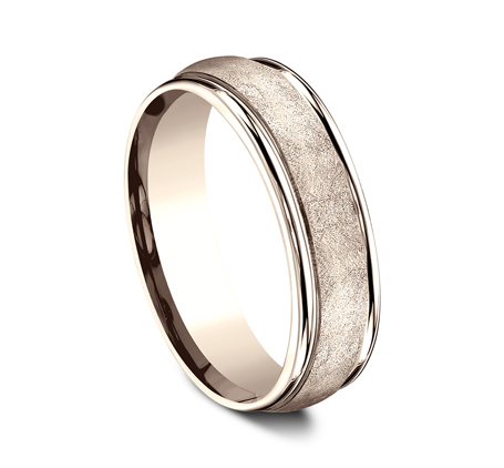 RECF86585R P2 - 6.5 MM  ROSE GOLD BAND
