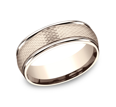 RECF87547R P1 - 7.5 MM ROSE GOLD BAND RECF87547R