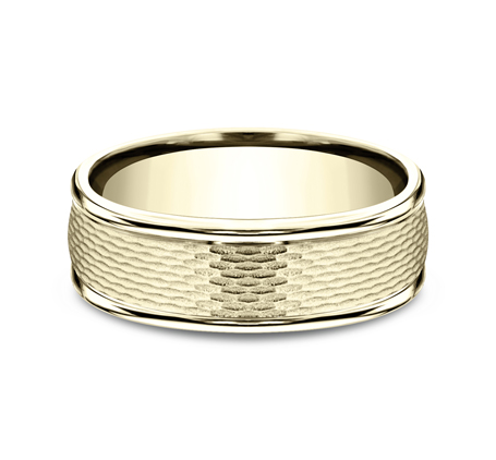 RECF87547Y P3 - 7.5 MM  YELLOW GOLD BAND RECF87547Y