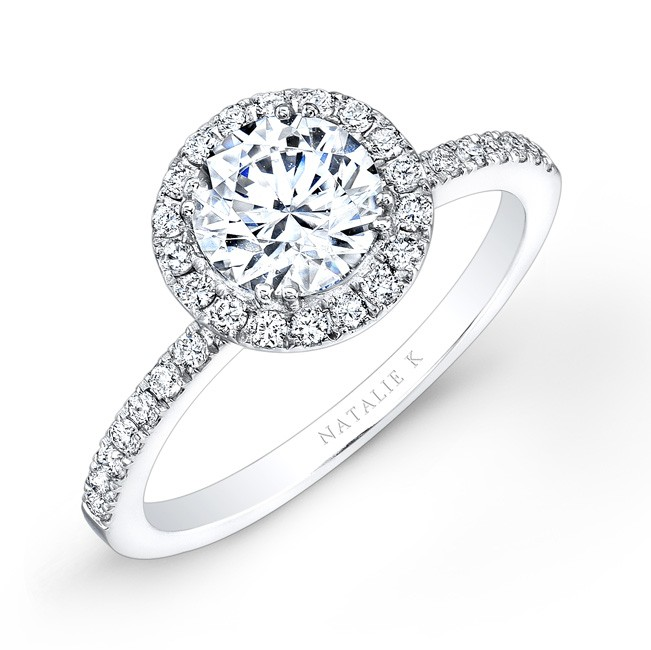 White Gold Engagement Rings Dallas