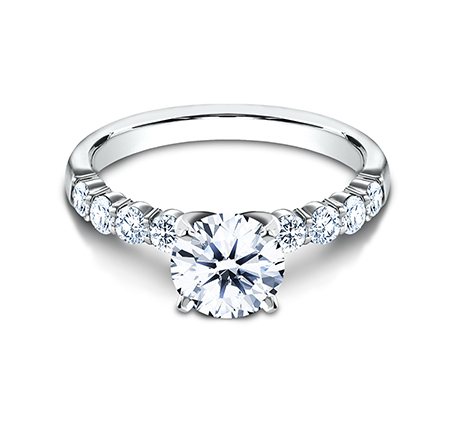 2.5MM WHITE GOLD SHARED PRONG ENGAGEMENT SET SPA6 LHSET W 2 1 - 2.5MM WHITE GOLD SHARED PRONG ENGAGEMENT SET SPA6-LHSET-W