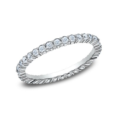 2MM SHARED PRONG ETERNITY DIAMOND BAND 552623W - 2MM SHARED PRONG ETERNITY DIAMOND BAND 552623W