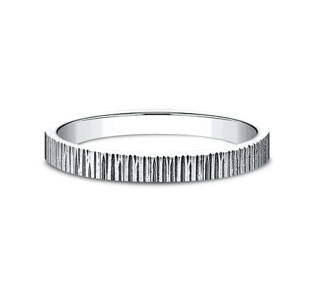 2MM WHITE GOLD STACKABLE BAND 492772W 2 - 2MM WHITE GOLD STACKABLE BAND 492772W