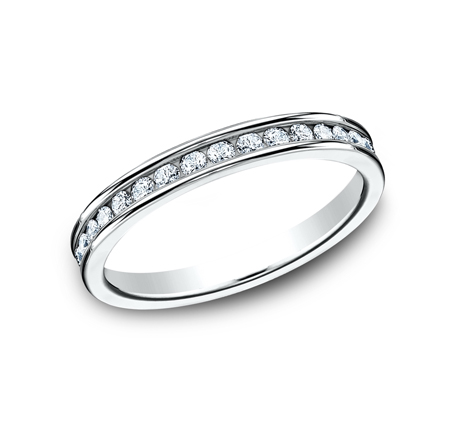 3MM ETERNITY DIAMOND BAND 513550W - 3MM ETERNITY DIAMOND BAND 513550W