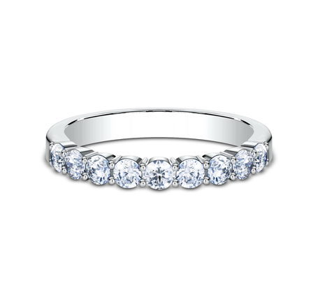 3MM PLATINUM SHARED PRONG DIAMOND BAND 5535922PT 2 - 3MM PLATINUM SHARED PRONG DIAMOND BAND 5535922PT