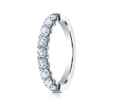 3MM WHITE GOLD CRESCENT SHARED PRONG DIAMOND BAND 5935643W 1 - 3MM WHITE GOLD CRESCENT SHARED PRONG DIAMOND BAND 5935643W