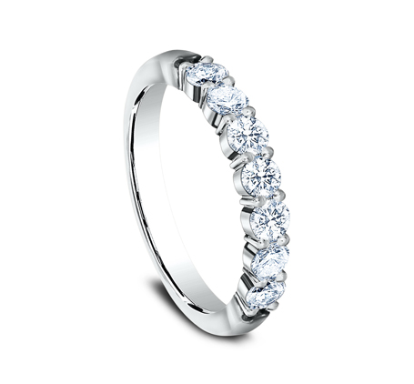 3MM WHITE GOLD SHARED PRONG DIAMOND BAND 5535015W 1 - 3MM WHITE GOLD SHARED PRONG DIAMOND BAND 5535015W