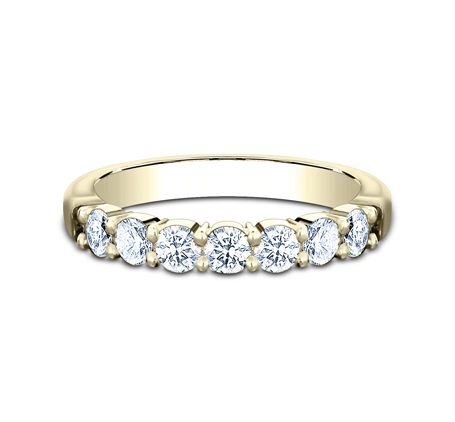 3MM YELLOW GOLD SHARED PRONG DIAMOND BAND 5535015Y 2 - 3MM YELLOW GOLD SHARED PRONG DIAMOND BAND 5535015Y