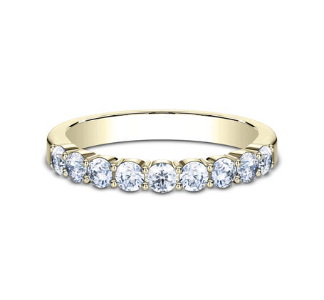 3MM YELLOW GOLD SHARED PRONG DIAMOND BAND 5535922Y 2 - 3MM YELLOW GOLD SHARED PRONG DIAMOND BAND 5535922Y