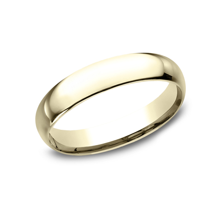4MM YELLOW GOLD BAND LCF140Y - 4MM YELLOW GOLD BAND LCF140Y