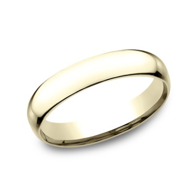 4MM YELLOW GOLD BAND SLCF140Y - 4MM YELLOW GOLD BAND SLCF140Y