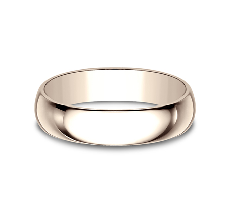 5MM ROSE GOLD BAND 150R 2 - 5MM ROSE GOLD BAND 150R