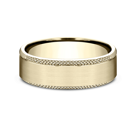 6.5MM YELLOW GOLD COMFORT FIT BAND 2 - 6.5MM YELLOW GOLD COMFORT-FIT BAND CF4965749Y